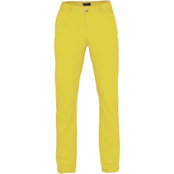 textil Herre Træningsbukser Asquith & Fox AQ050 Lemon Zest