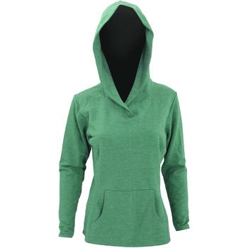 textil Dame Sweatshirts Anvil 72500L Heather Green