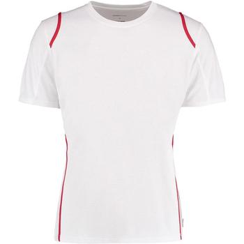 textil Herre T-shirts m. korte ærmer Gamegear Cooltex White/Red