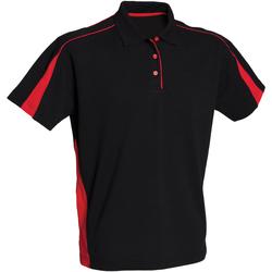 textil Dame Polo-t-shirts m. korte ærmer Finden & Hales LV391 Black/Red