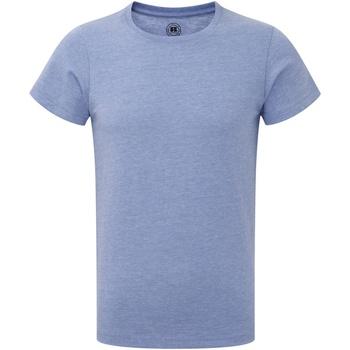 textil Dreng T-shirts m. korte ærmer Russell R165B Blue Marl