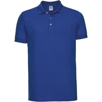 textil Herre Polo-t-shirts m. korte ærmer Russell 566M Bright Royal