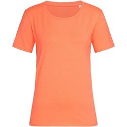 textil Dame T-shirts m. korte ærmer Stedman  Salmon Pink