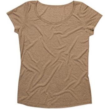 textil Dame T-shirts m. korte ærmer Stedman Stars  Vintage Brown
