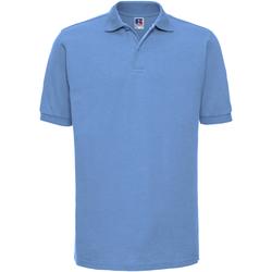 textil Herre Polo-t-shirts m. korte ærmer Russell Ripple Sky Blue