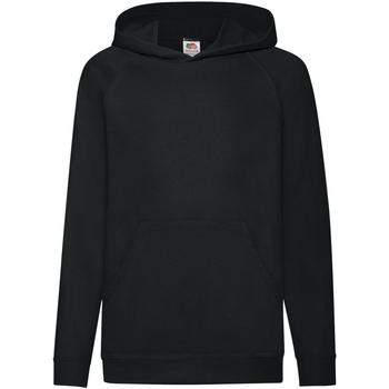 textil Børn Sweatshirts Fruit Of The Loom 62009 Black