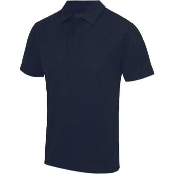 textil Herre Polo-t-shirts m. korte ærmer Awdis JC040 French Navy