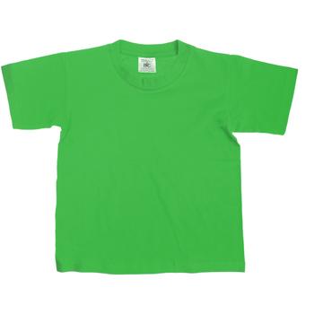 textil Børn T-shirts m. korte ærmer B And C Exact Kelly Green
