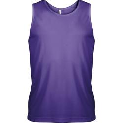 textil Herre Toppe / T-shirts uden ærmer Kariban Proact PA441 Violet