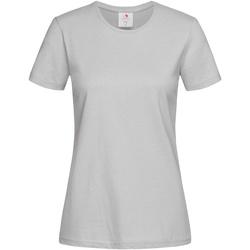 textil Dame T-shirts m. korte ærmer Stedman  Soft Grey