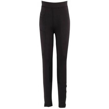 textil Dame Leggings Dublin  Black