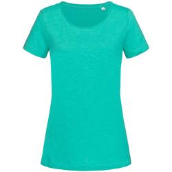 textil Dame T-shirts m. korte ærmer Stedman Stars Sharon Bahama Green