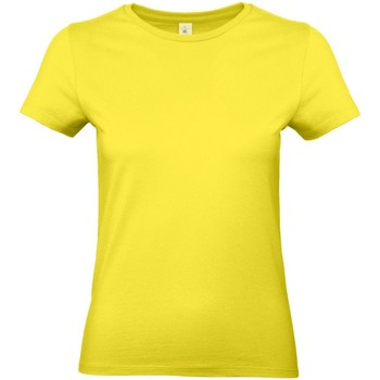 textil Dame T-shirts m. korte ærmer B And C E190 Solar Yellow