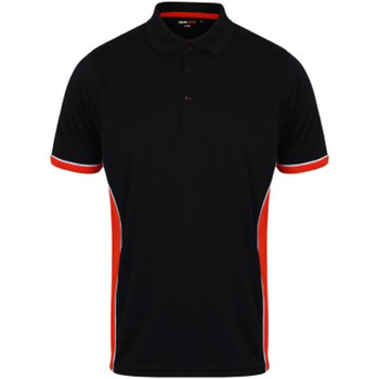 textil Herre Polo-t-shirts m. korte ærmer Finden & Hales TopCool Navy/Red/White