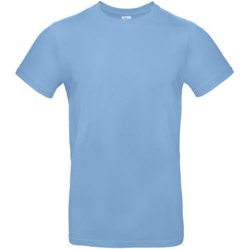 textil Herre T-shirts m. korte ærmer B And C TU03T Sky Blue