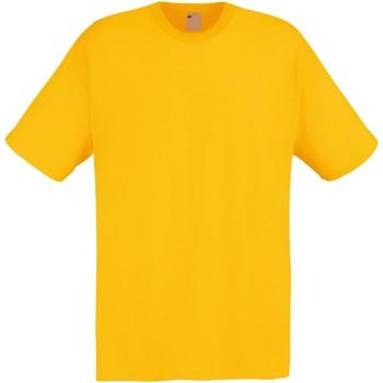 textil Herre T-shirts m. korte ærmer Universal Textiles 61082 Gold