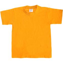 textil Børn T-shirts m. korte ærmer B And C Exact 190 Gold