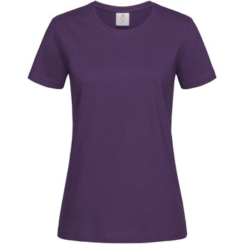 textil Dame T-shirts m. korte ærmer Stedman  Deep Berry