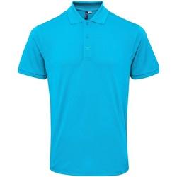 textil Herre Polo-t-shirts m. korte ærmer Premier PR630 Turquoise