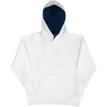 textil Børn Sweatshirts Sg SG24K White/Navy