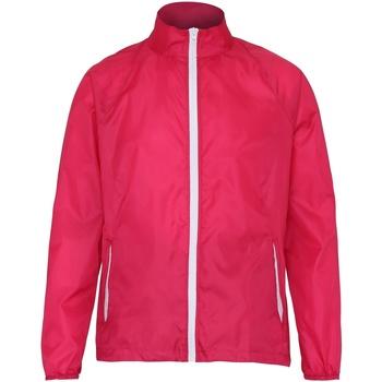 textil Herre Vindjakker 2786  Hot Pink/ White