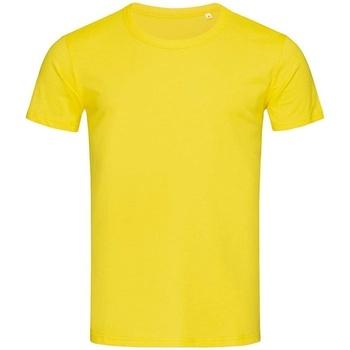 textil Herre T-shirts m. korte ærmer Stedman Stars Stars Daisy Yellow