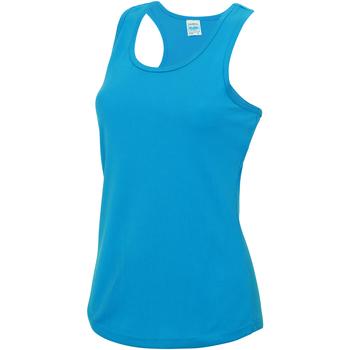 textil Dame Toppe / T-shirts uden ærmer Awdis JC015 Sapphire Blue