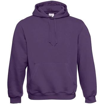 textil Herre Sweatshirts B And C WU620 Urban Purple
