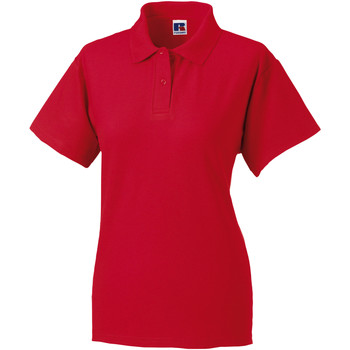 textil Dame Polo-t-shirts m. korte ærmer Jerzees Colours 539F Classic Red