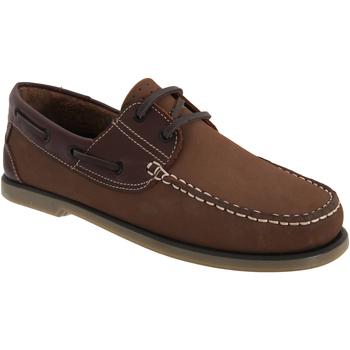 Sko Herre Sejlersko Dek  BrownNubuck/Leather