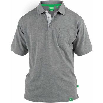 textil Herre Polo-t-shirts m. korte ærmer Duke  Grey Melange