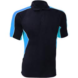 textil Herre Polo-t-shirts m. korte ærmer Gamegear KK938 Navy/Light Blue