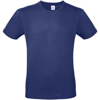 textil Herre T-shirts m. korte ærmer B And C TU01T Electric Blue