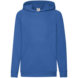 textil Børn Sweatshirts Fruit Of The Loom 62009 Royal