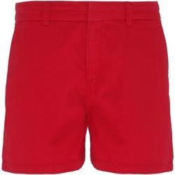 textil Dame Shorts Asquith & Fox AQ061 CherryRed