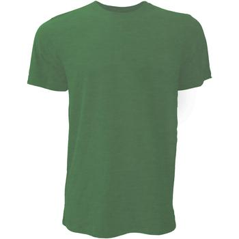 textil Herre T-shirts m. korte ærmer Bella + Canvas CA3001 Heather Forest