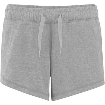 textil Dame Shorts Comfy Co CC055 Heather Grey