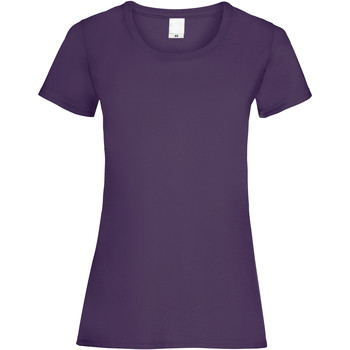 textil Dame T-shirts m. korte ærmer Universal Textiles 61372 Grape