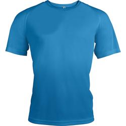 textil Herre T-shirts m. korte ærmer Kariban Proact PA438 Aqua