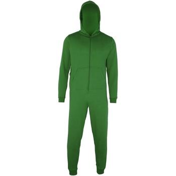 textil Børn Pyjamas / Natskjorte Colortone CC01J Kelly Green
