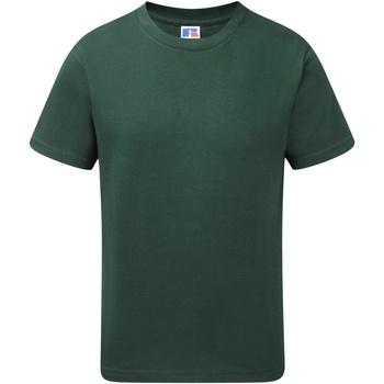 textil Dreng T-shirts m. korte ærmer Jerzees Schoolgear J155B Bottle Green