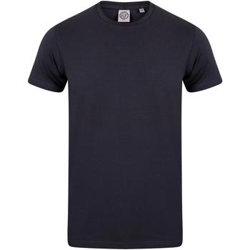 textil Børn T-shirts m. korte ærmer Skinni Fit SM121 Navy