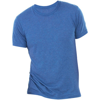 textil Herre T-shirts m. korte ærmer Bella + Canvas CA3413 True Royal Triblend