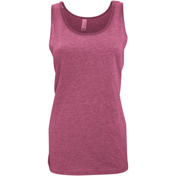 textil Dame Toppe / T-shirts uden ærmer Bella + Canvas CA3480 Red Triblend