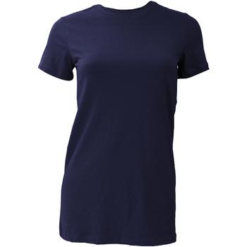 textil Dame T-shirts m. korte ærmer Bella + Canvas BE6004 Navy Blue