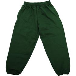 textil Børn Træningsbukser Jerzees Schoolgear 750B Bottle Green