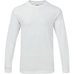 textil Herre Langærmede T-shirts Gildan H400 White