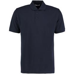 textil Herre Polo-t-shirts m. korte ærmer Kustom Kit KK403 Navy Blue