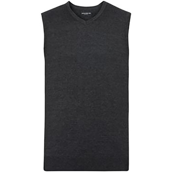 textil Herre Veste / Cardigans Russell 716M Charcoal Marl