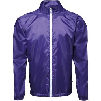 textil Herre Vindjakker 2786 TS011 Purple/ White
